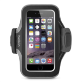 BELKIN Slim-Fit Plus Armband Black/Grey Neoprene for iPhone 6/6s