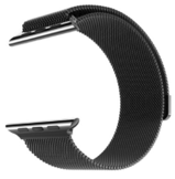 Hococase Apple Watch Stainless Steel Milanese Edition, Black