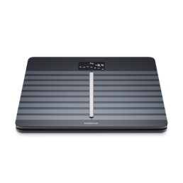 NOKIA Body Cardio Analyzer and Wireless Scale (Bluetooth, WiFi), Black -vaaka
