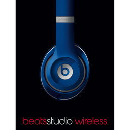 Beats Studio Wireless Over-Ear Mic Headphones Blue *esittelytuote*