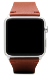 SLG D7 STRIPE Apple Watch Premium Leather, Brown