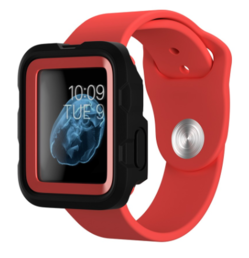 Griffin Survivor Tactical Case for Apple Watch (38mm) in Coral Fire