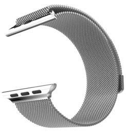 Hococase Apple Watch Stainless Steel Milanese Edition, Silver