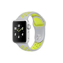 Apple Watch Nike+ Silver Aluminium Case with Flat Silver/Volt Nike Sport Band