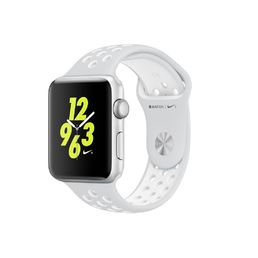 Apple Watch Nike+ 42mm Silver Aluminium Case with Platinum / White Nike Sport Band