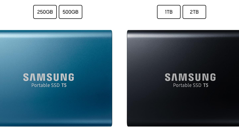 Samsung Portable Ssd T5 1tb External Black Usb C Usb3 0 Tector