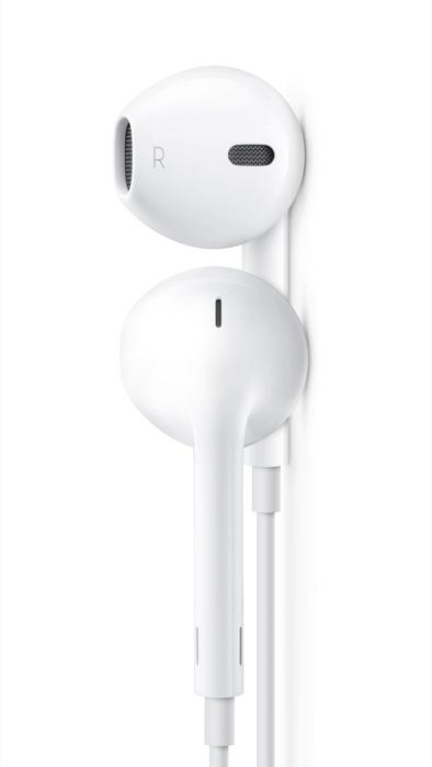 Apple EarPods nappikuulokkeet Lightning liitännällä | Tector