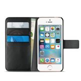 Puro Milano Wallet, Black for iPhone SE/5/5s
