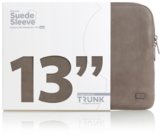 "Trunk Suede Leather Sleeve for MacBook Pro 13"" (2016-) - Beige"
