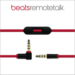Beats Cable 3,5mm-3,5mm Male-Male, Red