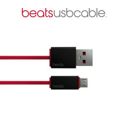 Beats Cable USB A-B (micro USB), Red *poistuva*