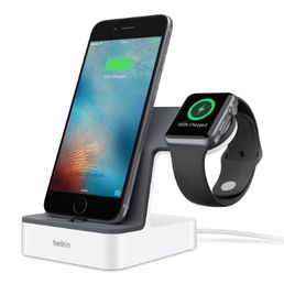 Belkin PowerHouse Charge Dock for Apple Watch + iPhone (Lightning connector)