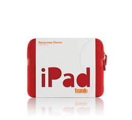 "Trunk Neoprene Sleeve for iPad 9,7"" - Red"