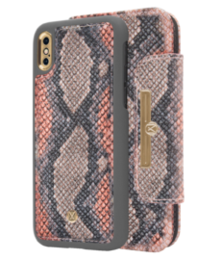 Marvêlle N°303 MULTICOLOR CALIFORNIA SNAKE | MAGNETIC FLIP CASE & WALLET | IPHONE XS MAX EOL