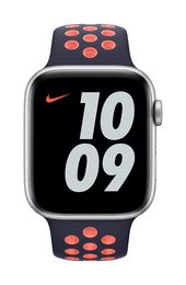 Apple Watch 44mm Blue Black/Bright Mango Nike Sport Band - Regular