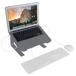 Macally Aluminum laptop stand, Space Grey