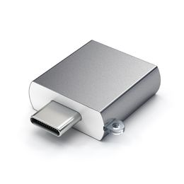 Satechi USB-C to USB Type-A adapter, Space Grey