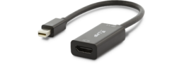 LMP Mini-DisplayPort to HDMI Adapter, Black