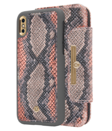 Marvêlle N°303 MULTICOLOR CALIFORNIA SNAKE | MAGNETIC FLIP CASE & WALLET | IPHONE XS MAX *poistuva*