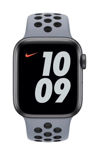 Apple Watch 40mm Obsidian Mist/Black Nike Sport Band – Regular