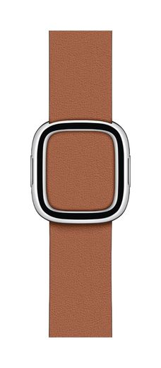 Apple Watch Saddle Brown Modern Buckle