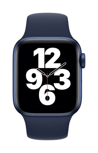 Apple Watch 40mm Deep Navy Sport Band - Regular