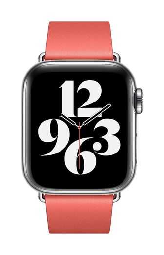 Apple Watch 40mm Pink Citrus Modern Buckle - Large