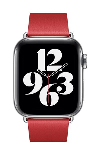 Apple Watch 40mm Scarlet Modern Buckle - Large