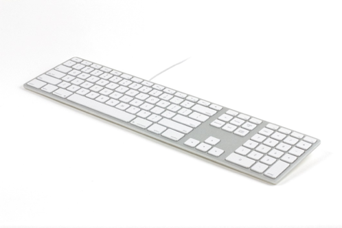 Matias Wired Aluminum Keyboard for Mac - Silver - Nordic
