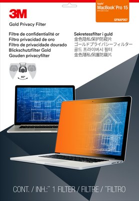 "3M Gold Privacy Filter for Apple MacBook Pro 15"" Touch Bar"