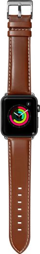 LAUT Oxford Leather Strap for Apple Watch 42/44mm - Tobacco