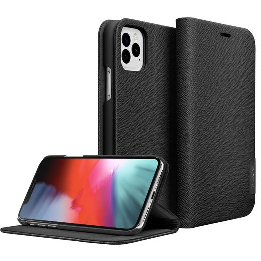 LAUT Prestige Folio - iPhone 11 Pro Max, Black