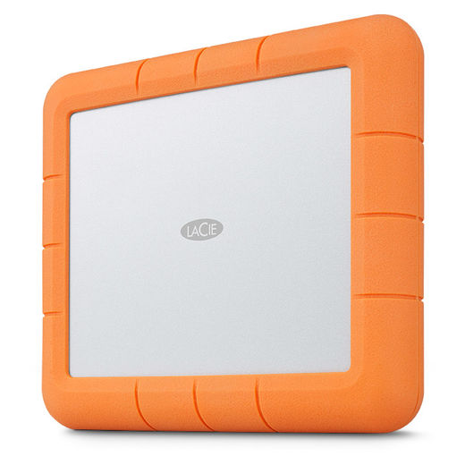 "LaCie Rugged RAID Shuttle 8TB 2.5"" IP54 USB-C/USB3.0/Thunderbolt3"
