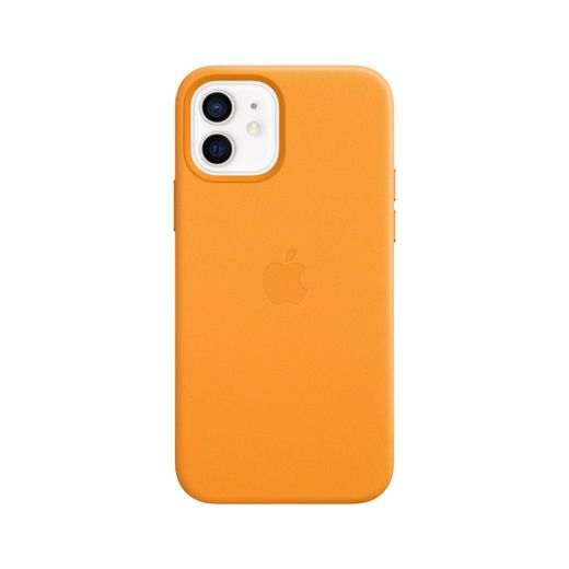 Apple iPhone 12 | 12 Pro Leather Case with MagSafe - California Poppy