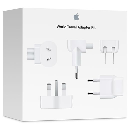 MD837ZM/A Apple World Travel Adapter Kit