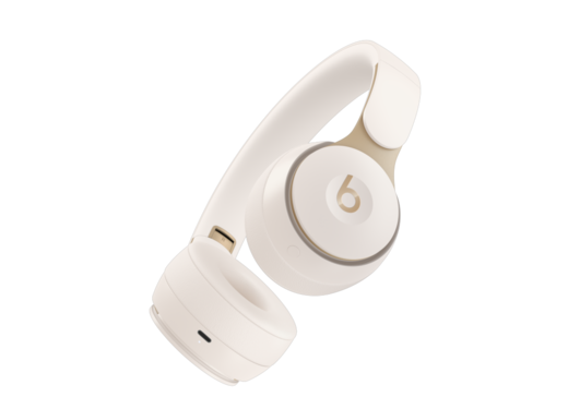 Beats Solo Pro Wireless Noise Cancelling Headphones - Ivory (kermanvalkoinen)