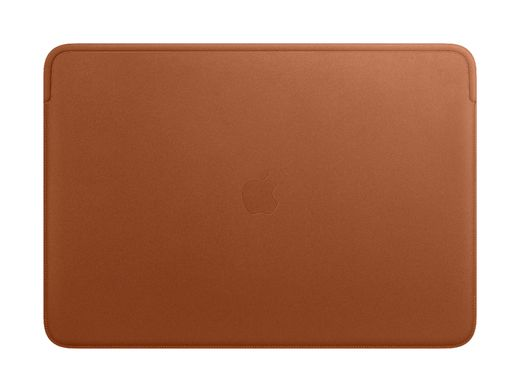 Apple Leather Sleeve for 16‑inch MacBook - Saddle Brown