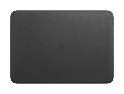 Apple Leather Sleeve for 16‑inch MacBook - Black