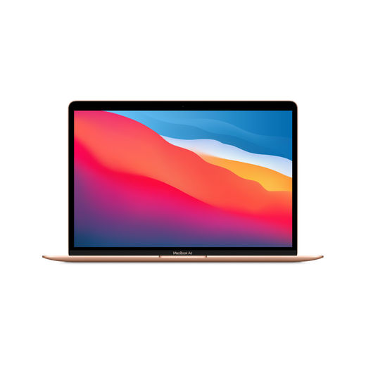 "Apple MacBook Air 13.3"" M1 8-core CPU & 7-core GPU/8GB/256GB SSD - Gold (kulta)"