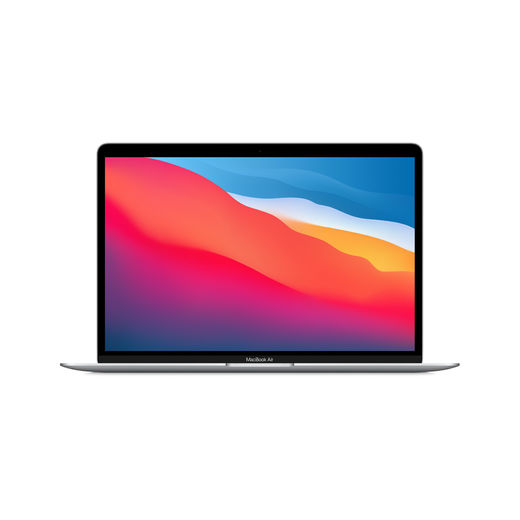 "Apple MacBook Air 13.3"" M1 8-core CPU & 8-core GPU/8GB/512GB SSD - Silver (hopea) *muokattavissa*"