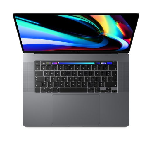 "Apple MacBook Pro 16"" with Touch Bar: - Space Grey (tähtiharmaa)"