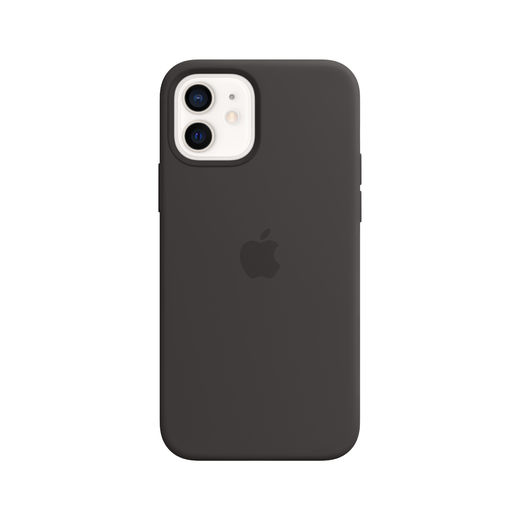 Apple iPhone 12 | 12 Pro Silicone Case with MagSafe - Black