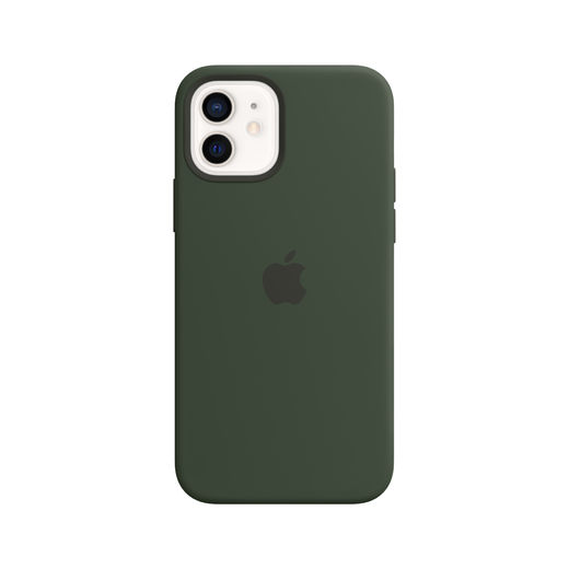 Apple iPhone 12 | 12 Pro Silicone Case with MagSafe - Cypress Green