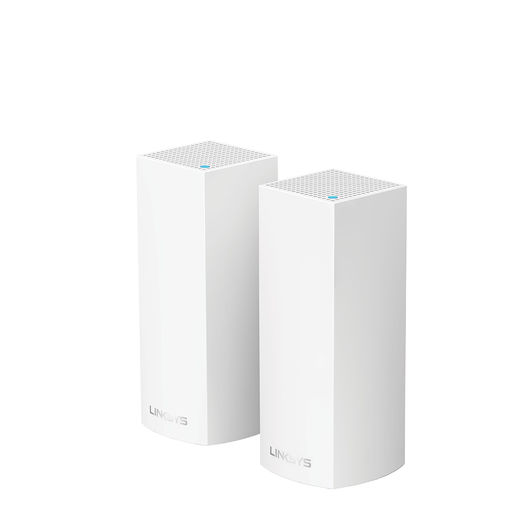 Linksys VELOP Whole Home Intelligent Mesh Wi-Fi System (Tri Band, 2 nodes)