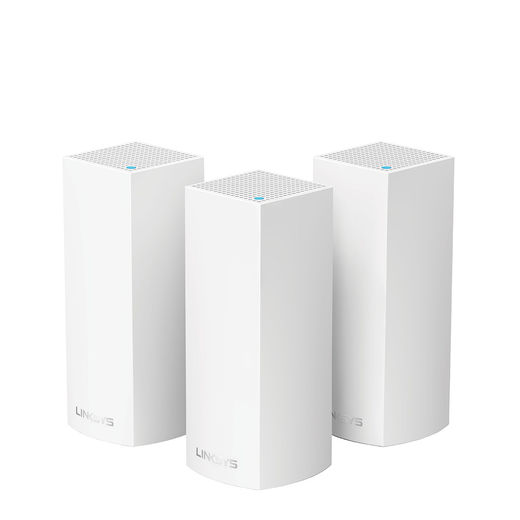 Linksys VELOP Whole Home Intelligent Mesh Wi-Fi System (Tri Band, 3 nodes)