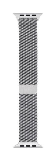 Apple Watch 40mm Silver Milanese Loop -ranneke
