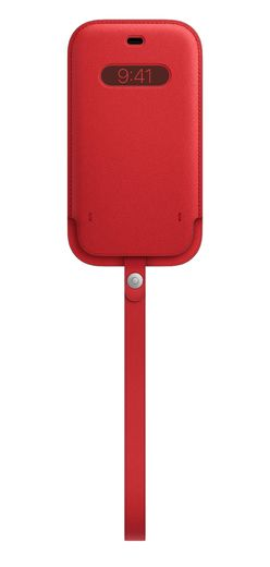 Apple iPhone 12 | 12 Pro Leather Sleeve with MagSafe - (PRODUCT)RED
