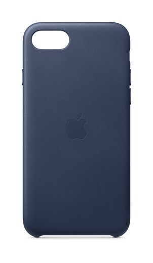 iPhone SE Leather Case - Midnight Blue (yön sininen)