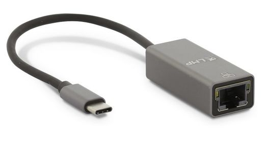 LMP USB-C to Gigabit Ethernet Adapter 15cm, Space Grey
