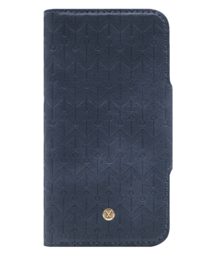 Marvêlle N°307 SIGNATURE OXFORD BLUE | SLIM MAGNETIC FLIP CASE & WALLET | IPHONE XS MAX *poistuva*